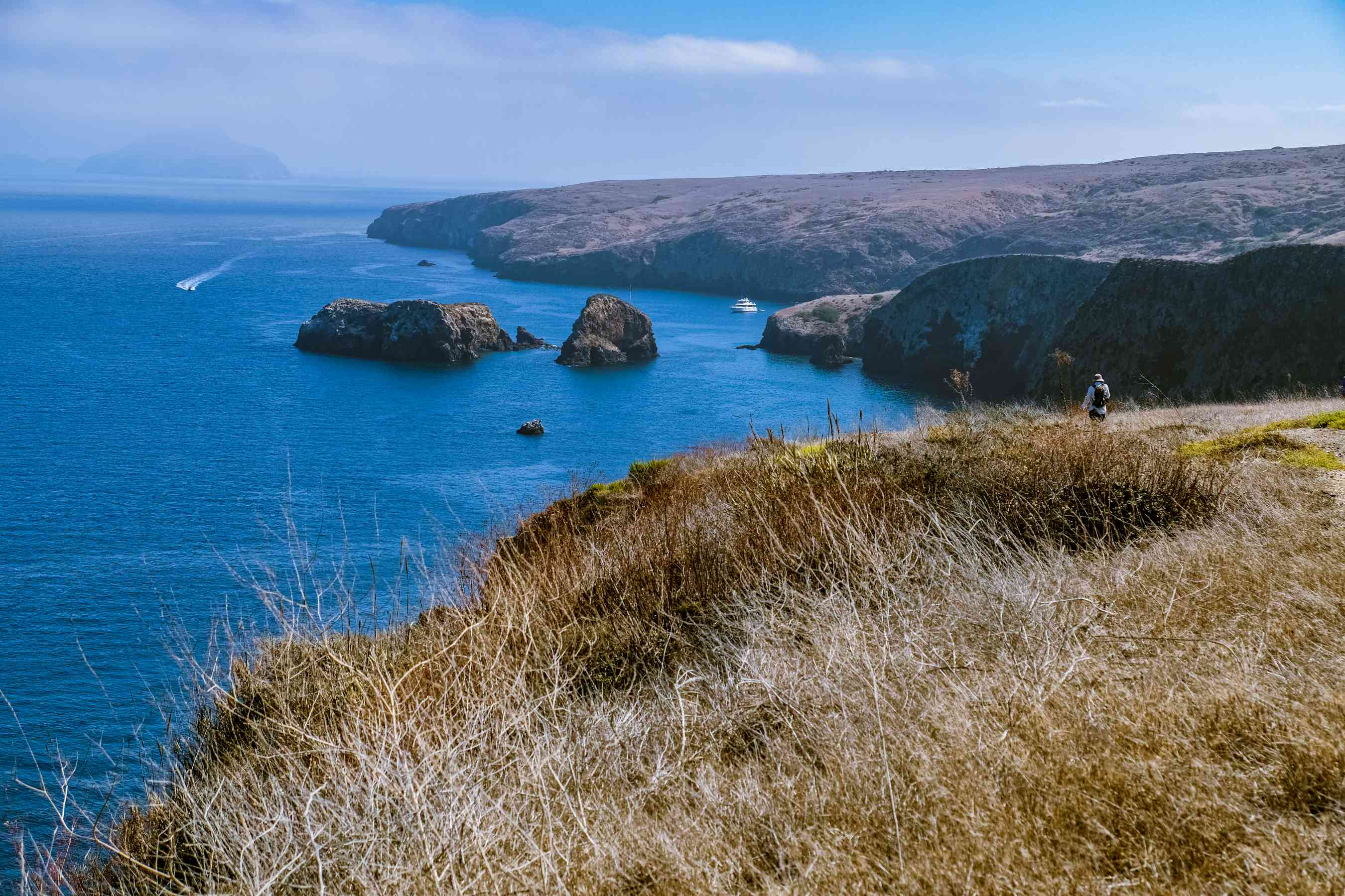 Coastline of the Channel Islands National Park