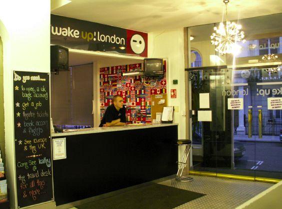 Wake Up London Hostel Imagen del lobby