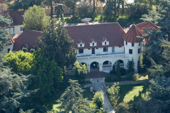 Phil Spector S Mansion In Los Angeles