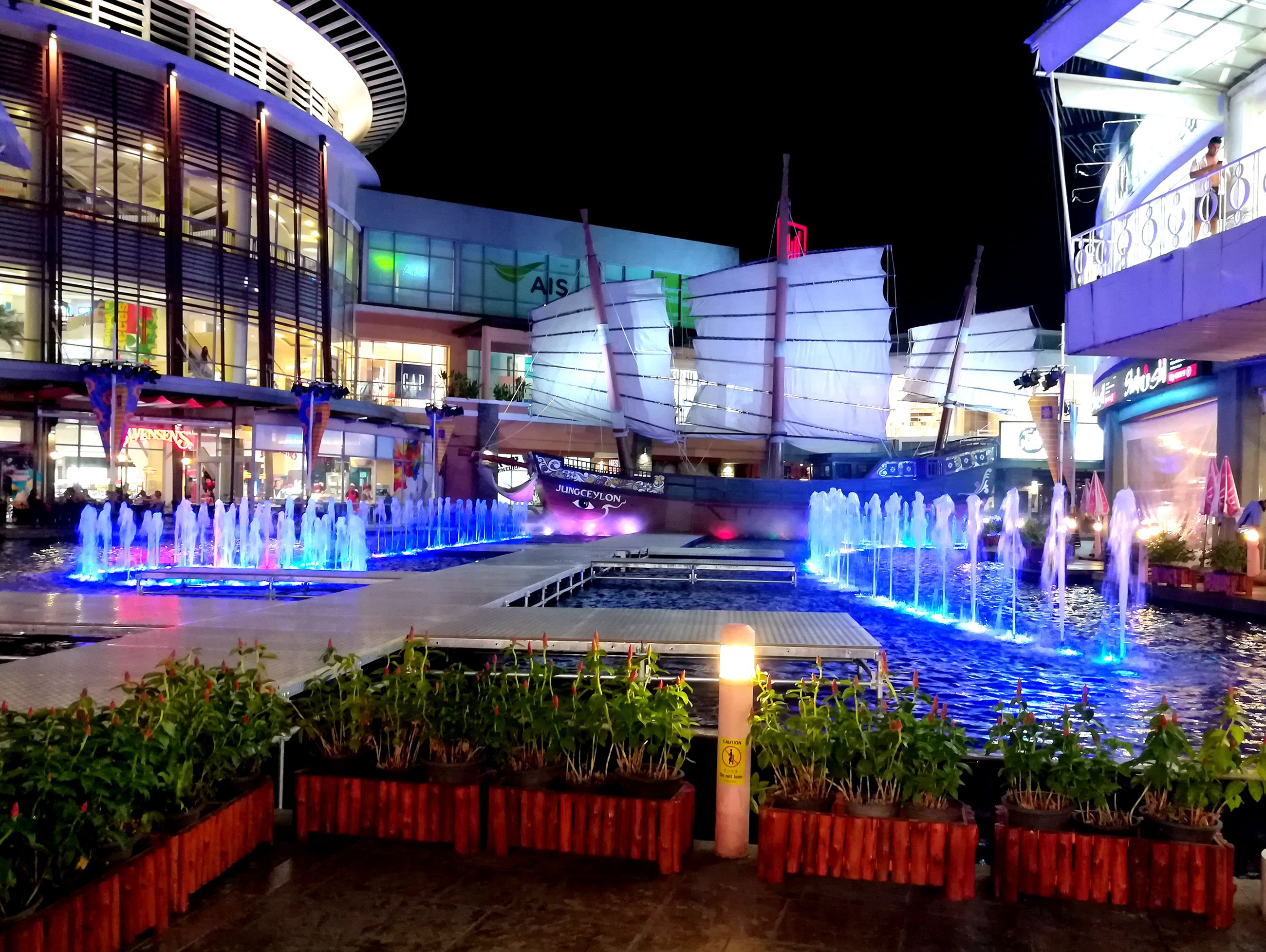 The Jungceylon shopping centre in the town Patong in Phuket Province, Thailand.