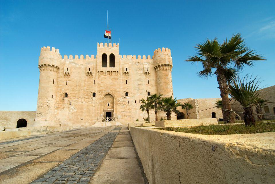 Ciudadela de Qaitbay, Alejandría