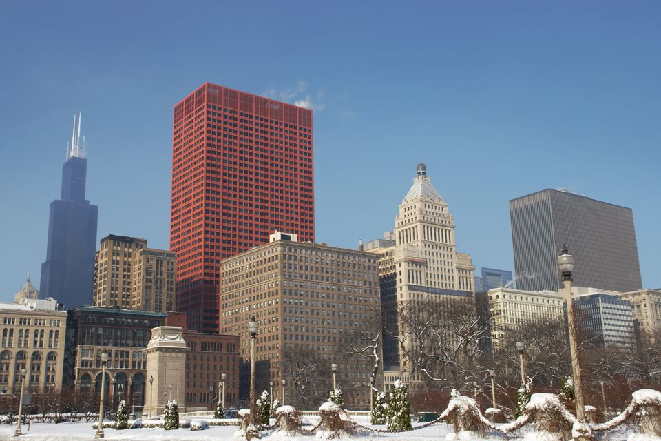 Chicago In Winter