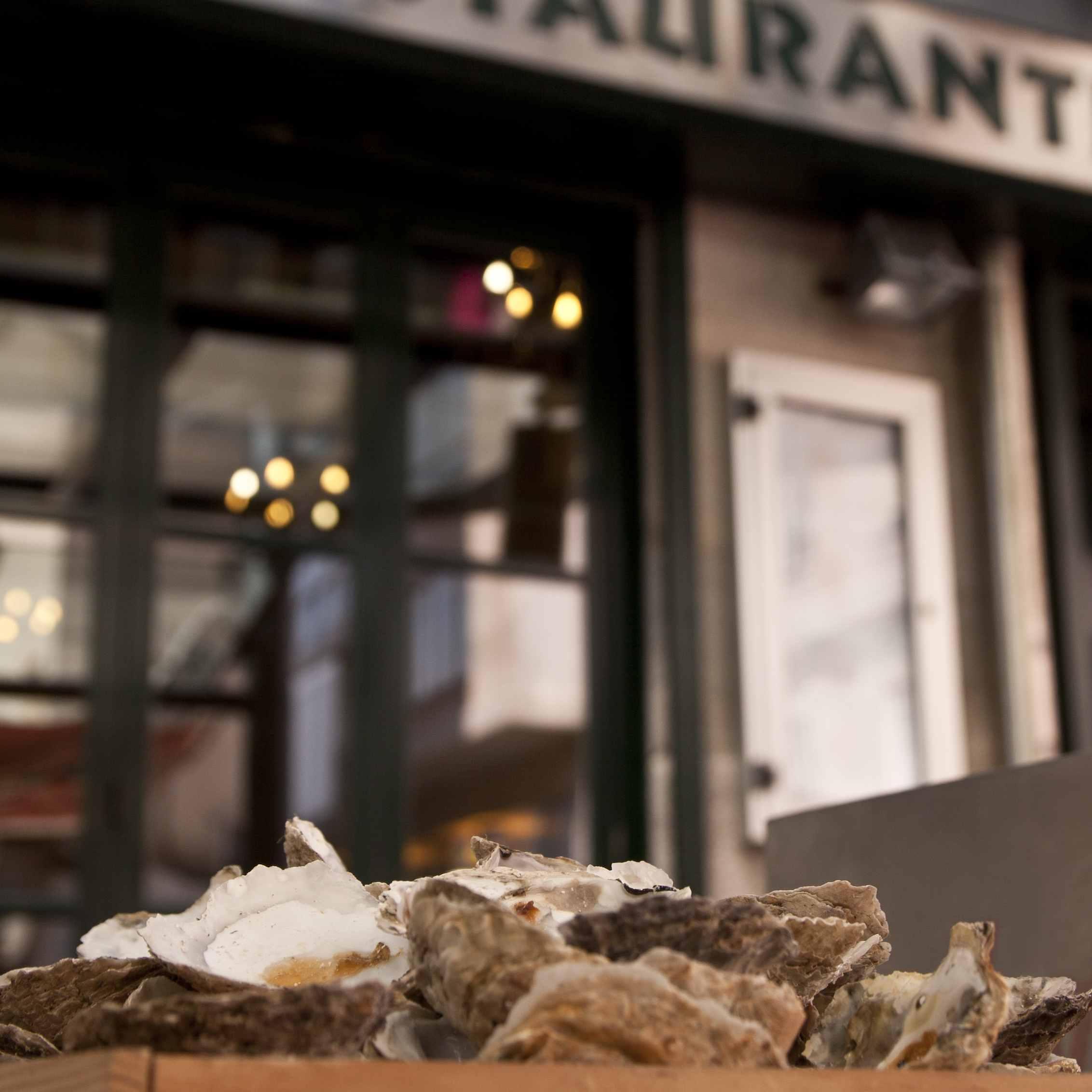 Oysters in Vigo