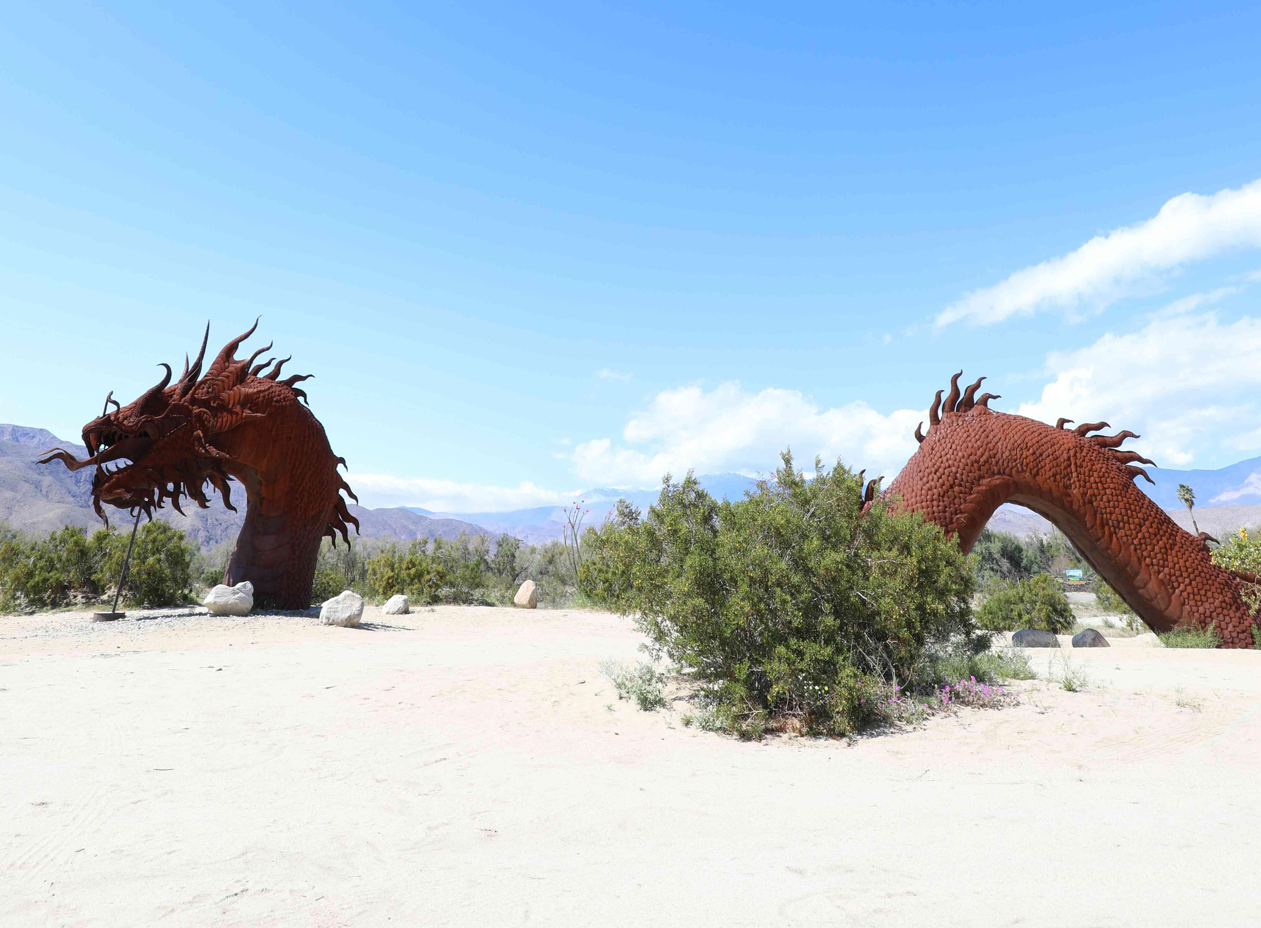 Ricardo Breceda art at Galleta Meadows