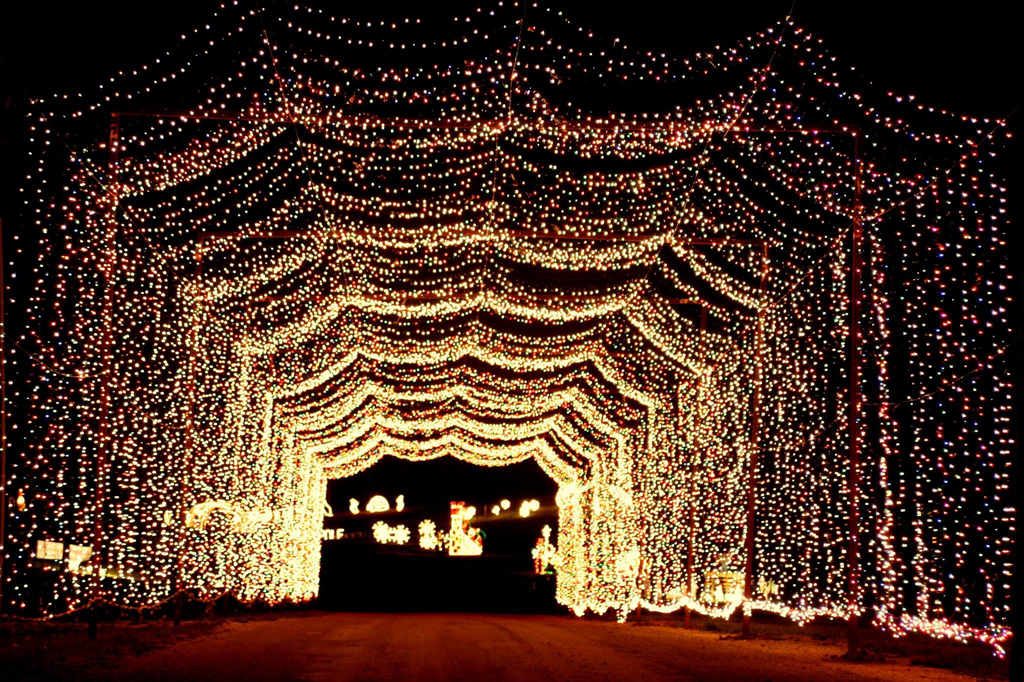 Holiday Night Lights at Rotary Park in Wentzville