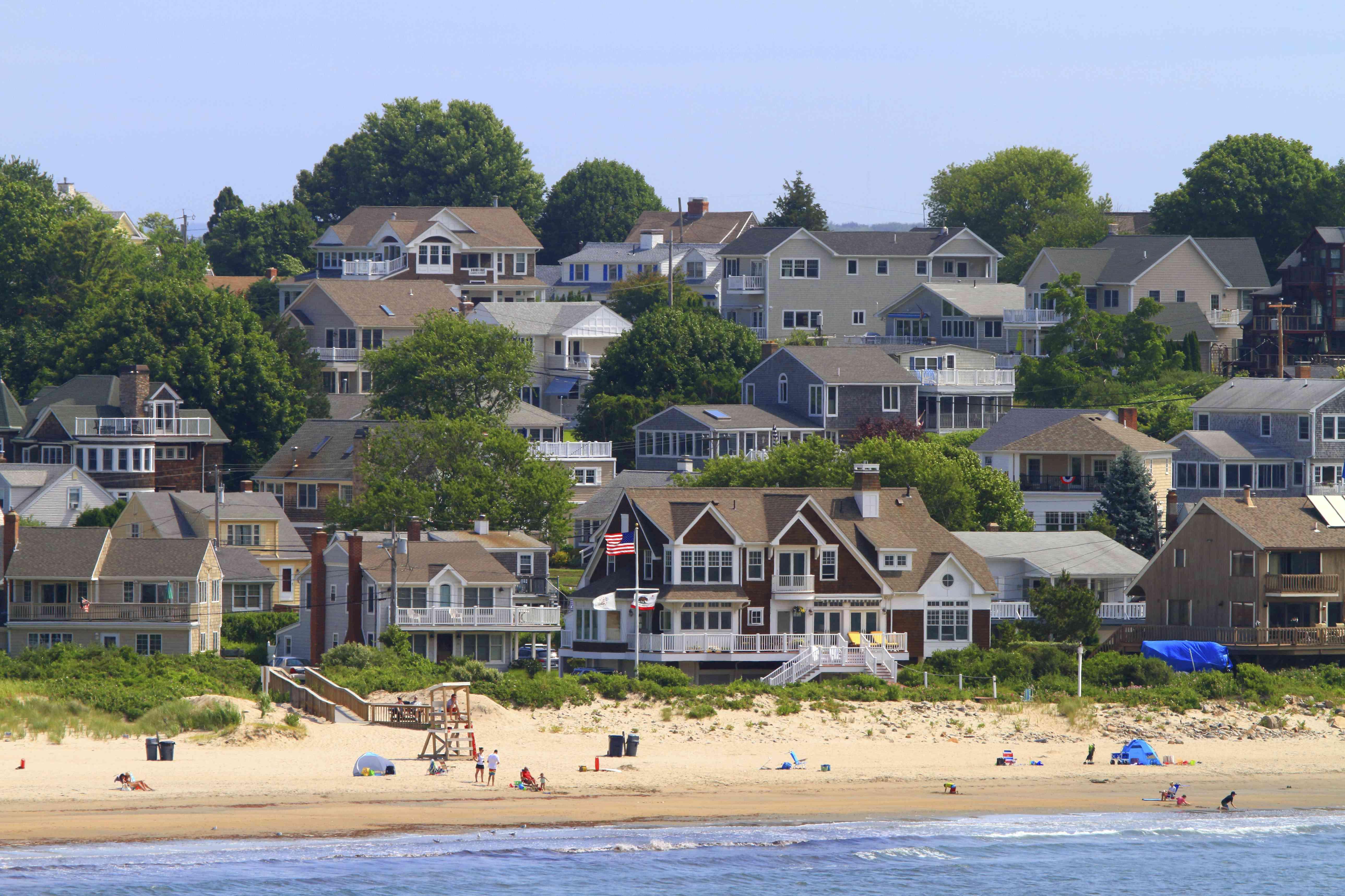 Usa, Rhode Island. Narragansett, Rhode Island