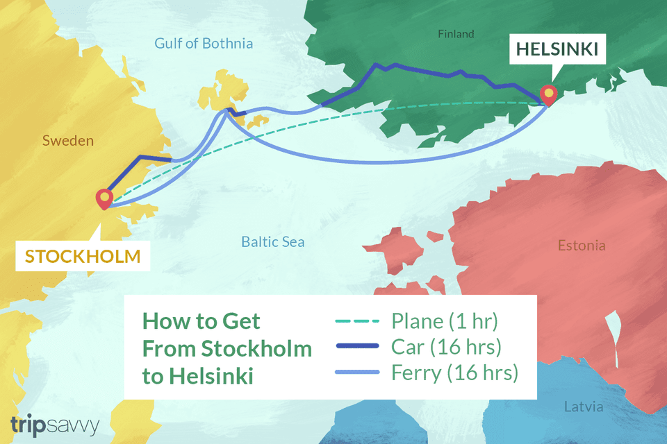 How to Get From Stockholm to Helsinki