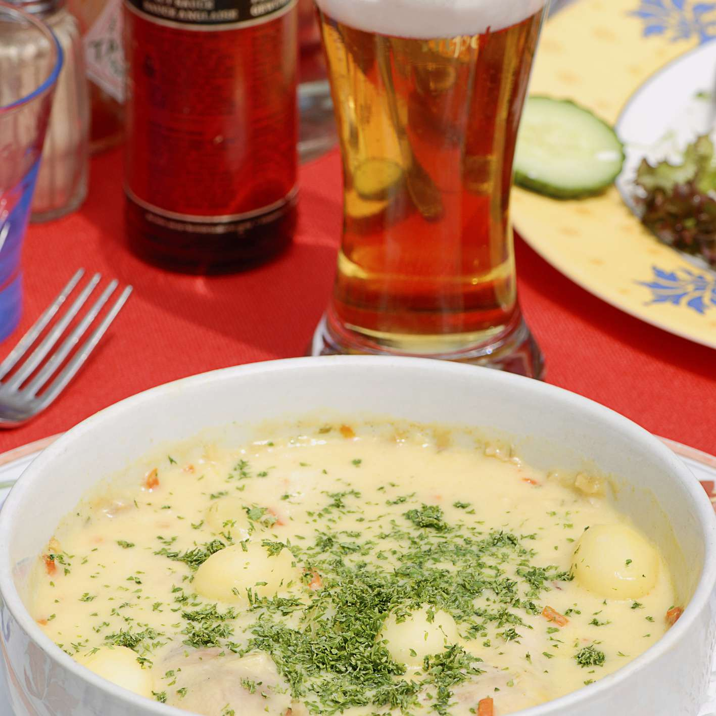 Belgian fish soup
