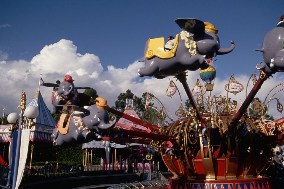 Dumbo Ride at Disneyland