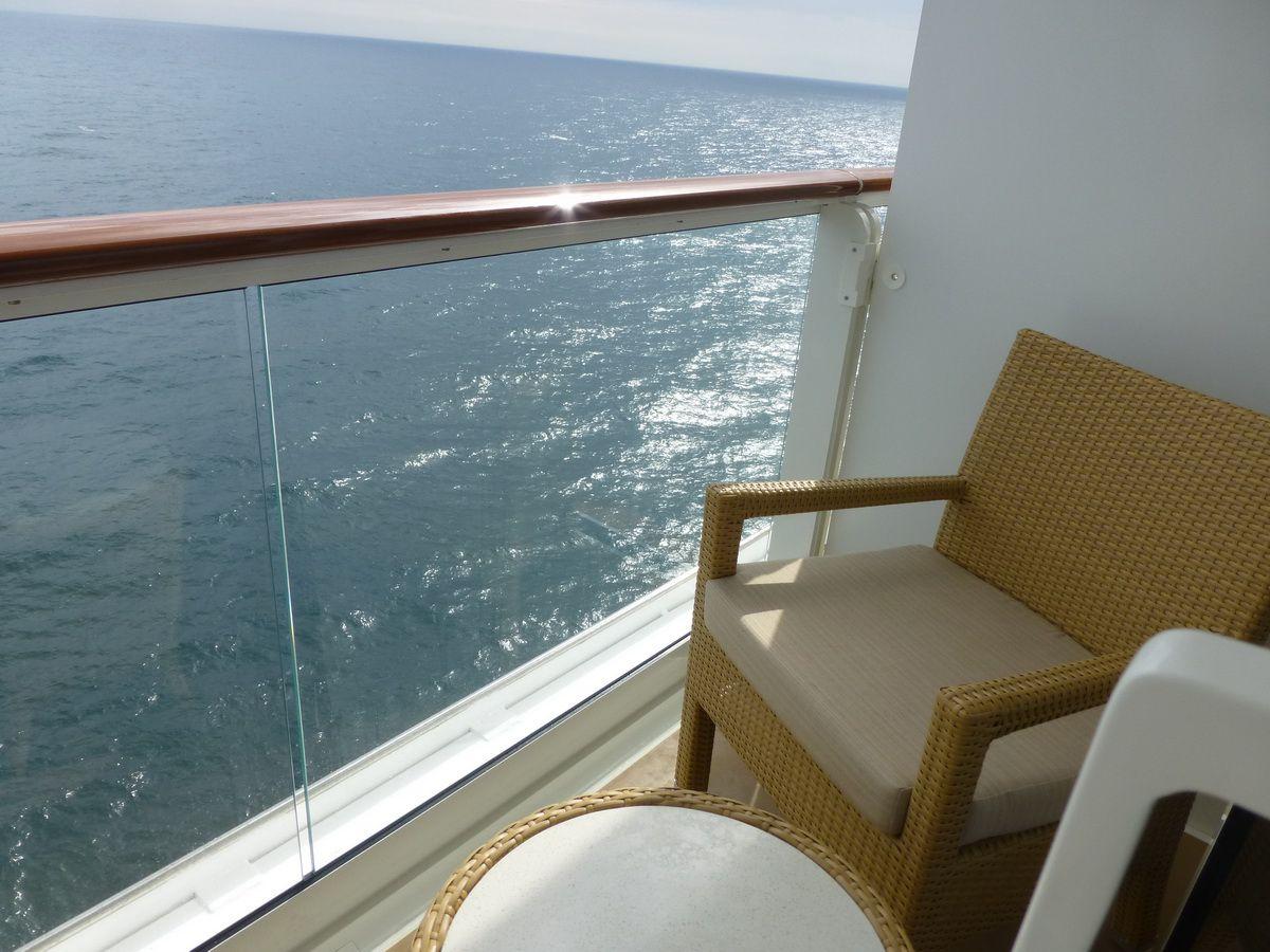 Norwegian Breakaway Spa Suite Balcony