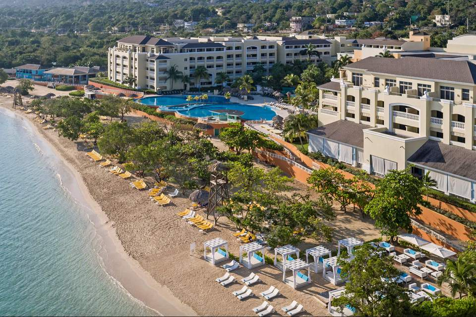 The Beach And Pools At Iberostar Grand Resort In Rose Hall Jamaica
