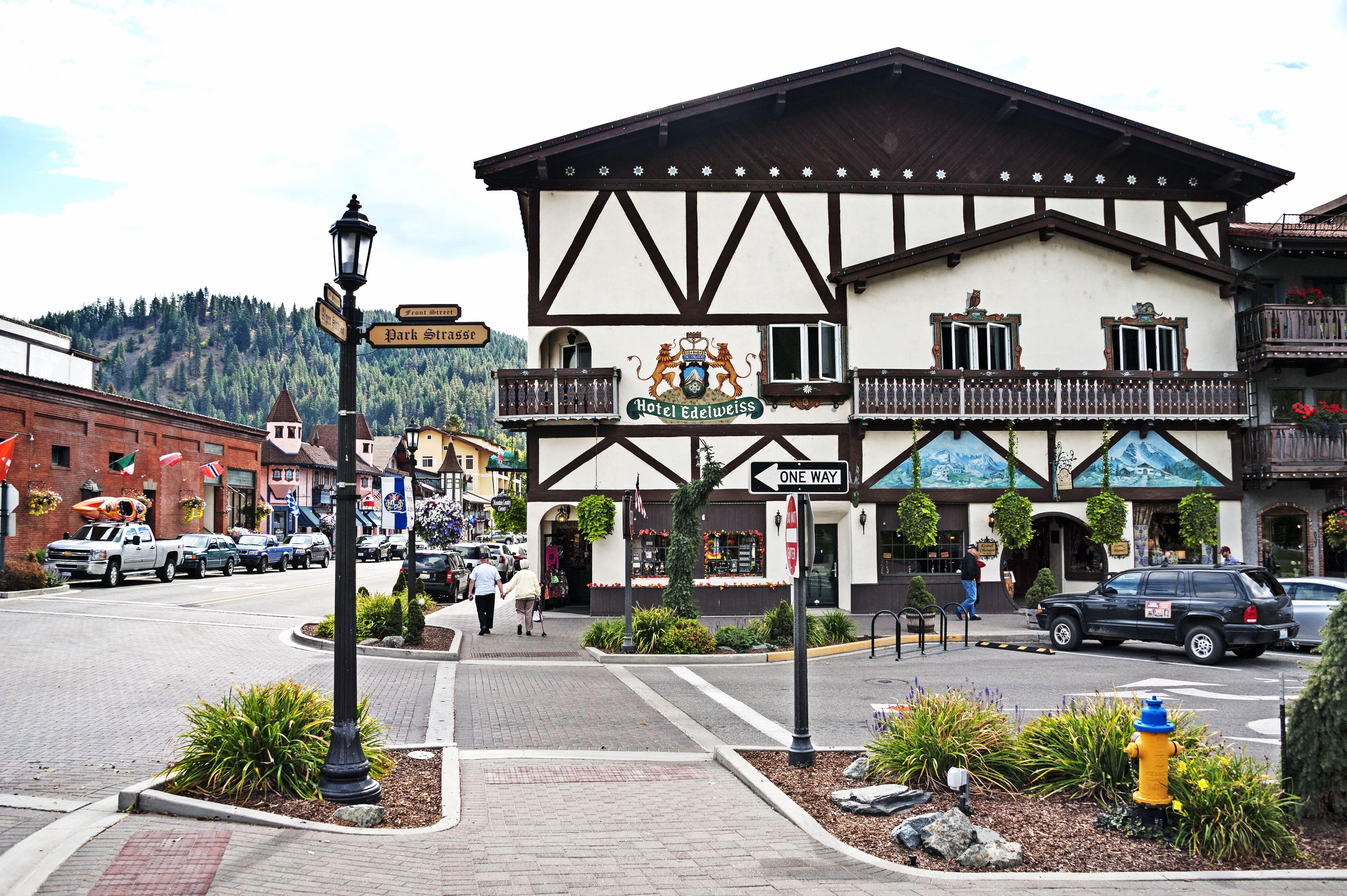 Hotel Edelweiss in Leavenworth