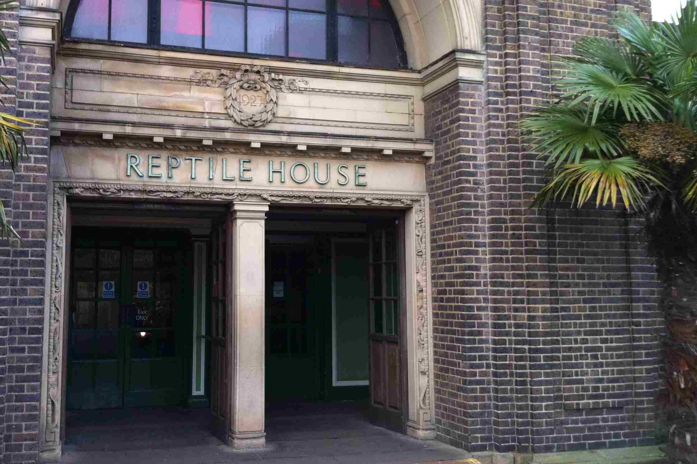 Reptile House London Zoo