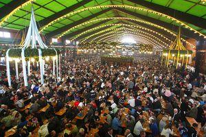 Oktoberfest Augustiner beer tent