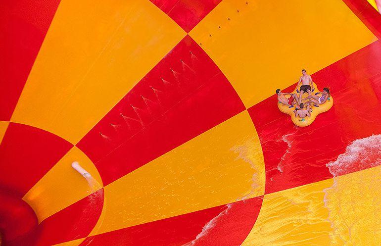 Great Wolf Lodge California funnel ride