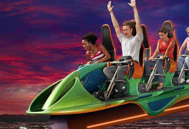 XScream Stratosphere Vegas ride