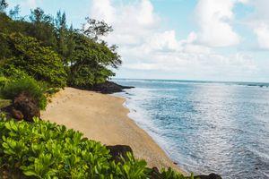 Anini Beach on Kauai's North Shore