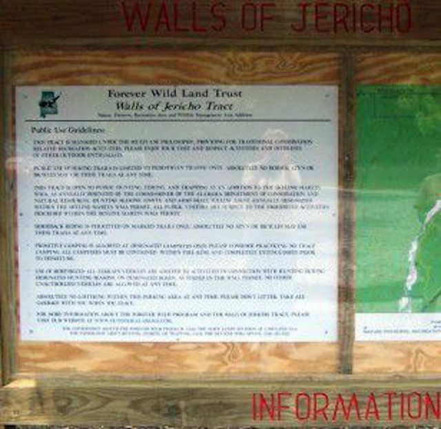 Walls of Jericho Tract