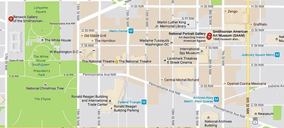 Smithsonian Washington Dc Map.Smithsonian Museums Map And Directions