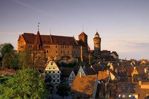 Kaiserburg Castle in Nuremberg