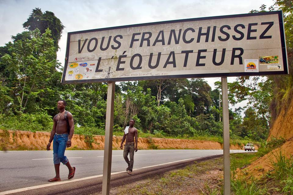 Crossing the Equator, Gabon