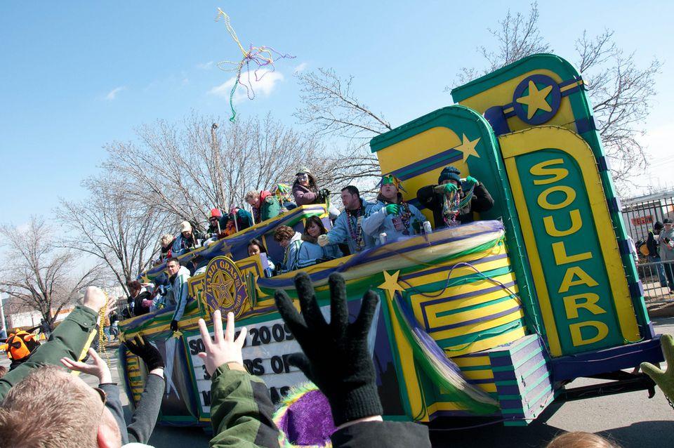 Soulard Mardi Gras Grand Parade