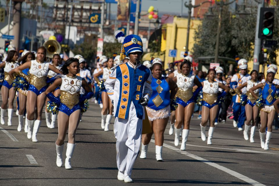 Kingdom Day Parade in Los Angeles
