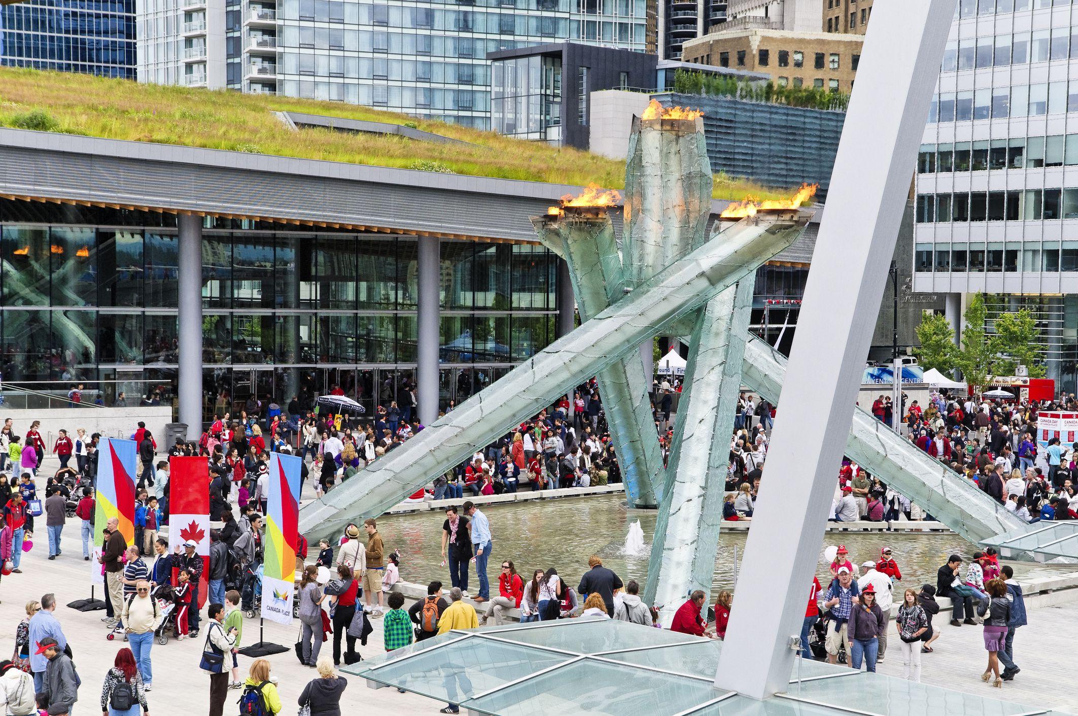 Celebraciones del Día de Jack Poole Plaza Canada