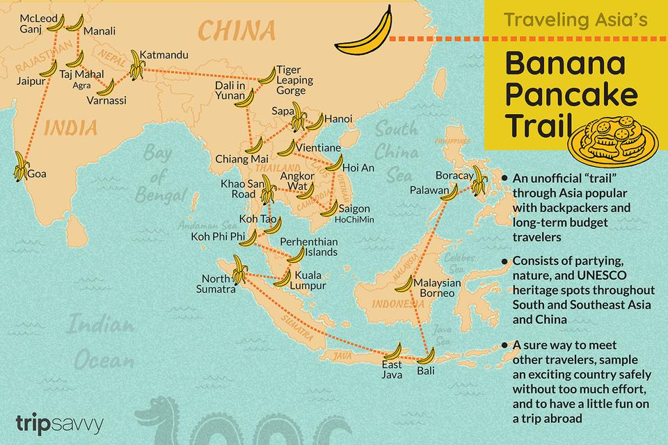 Asia's Banana Pancake Trail