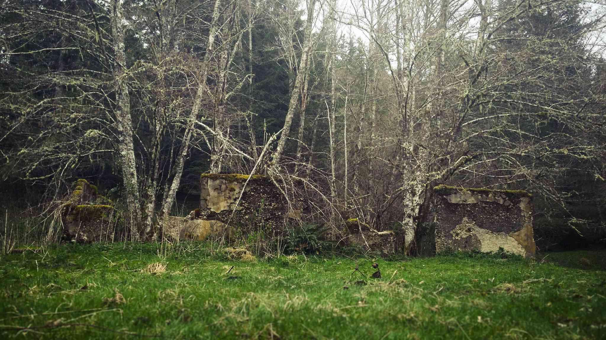 Escuela del pueblo fantasma de Melmont