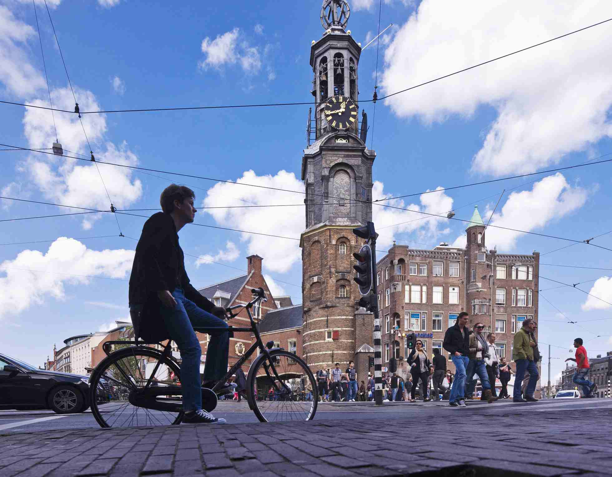 Bicycle near the Munttoren