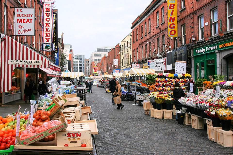 Mercado de la calle Moore