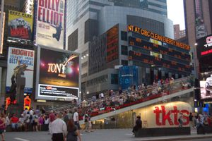 TKTS Booth @ Times Square