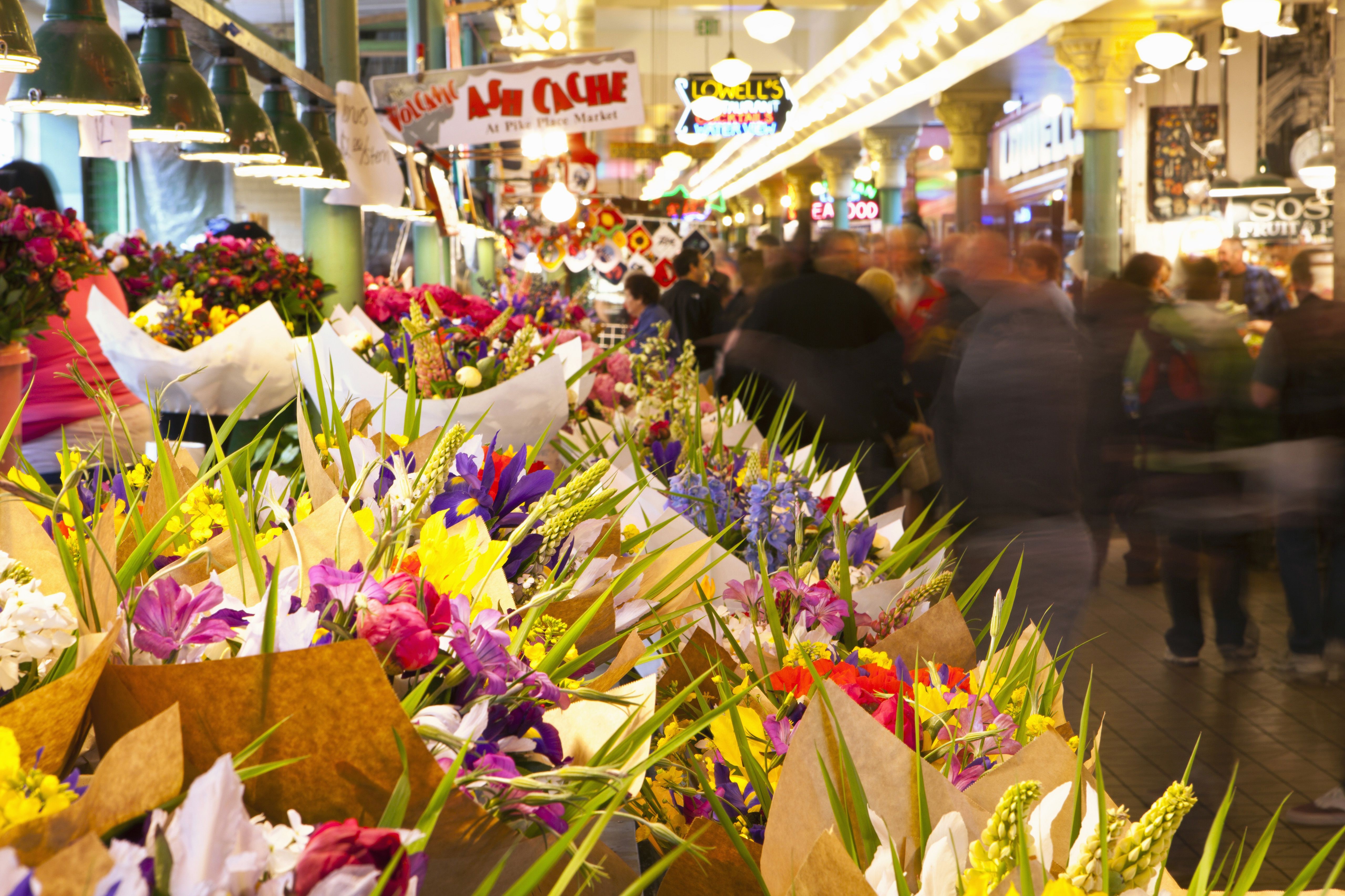 Pike Place Market - Top 10 Fun Things to Do