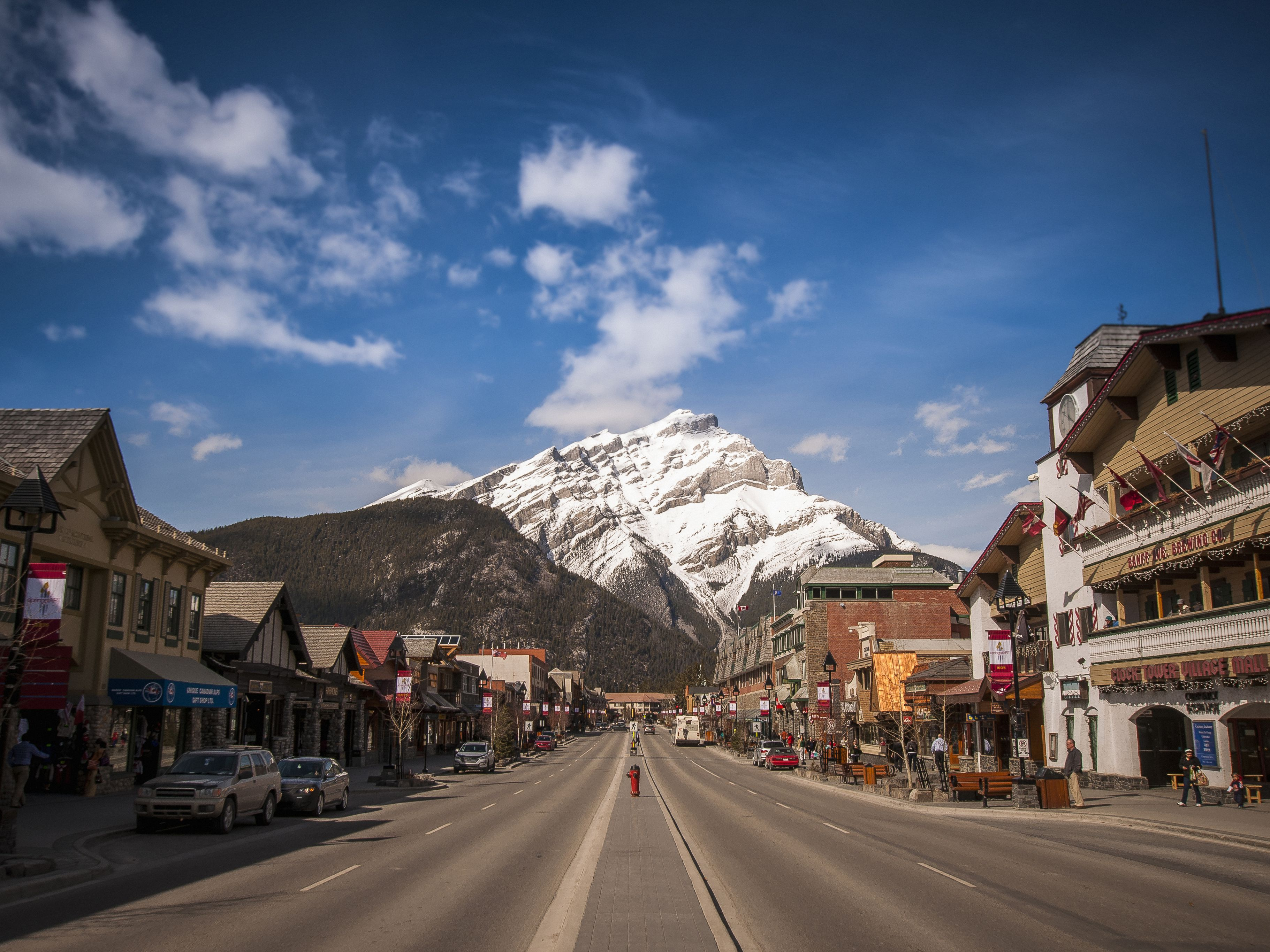 Ways To Get From Vancouver B C To Banff Alberta
