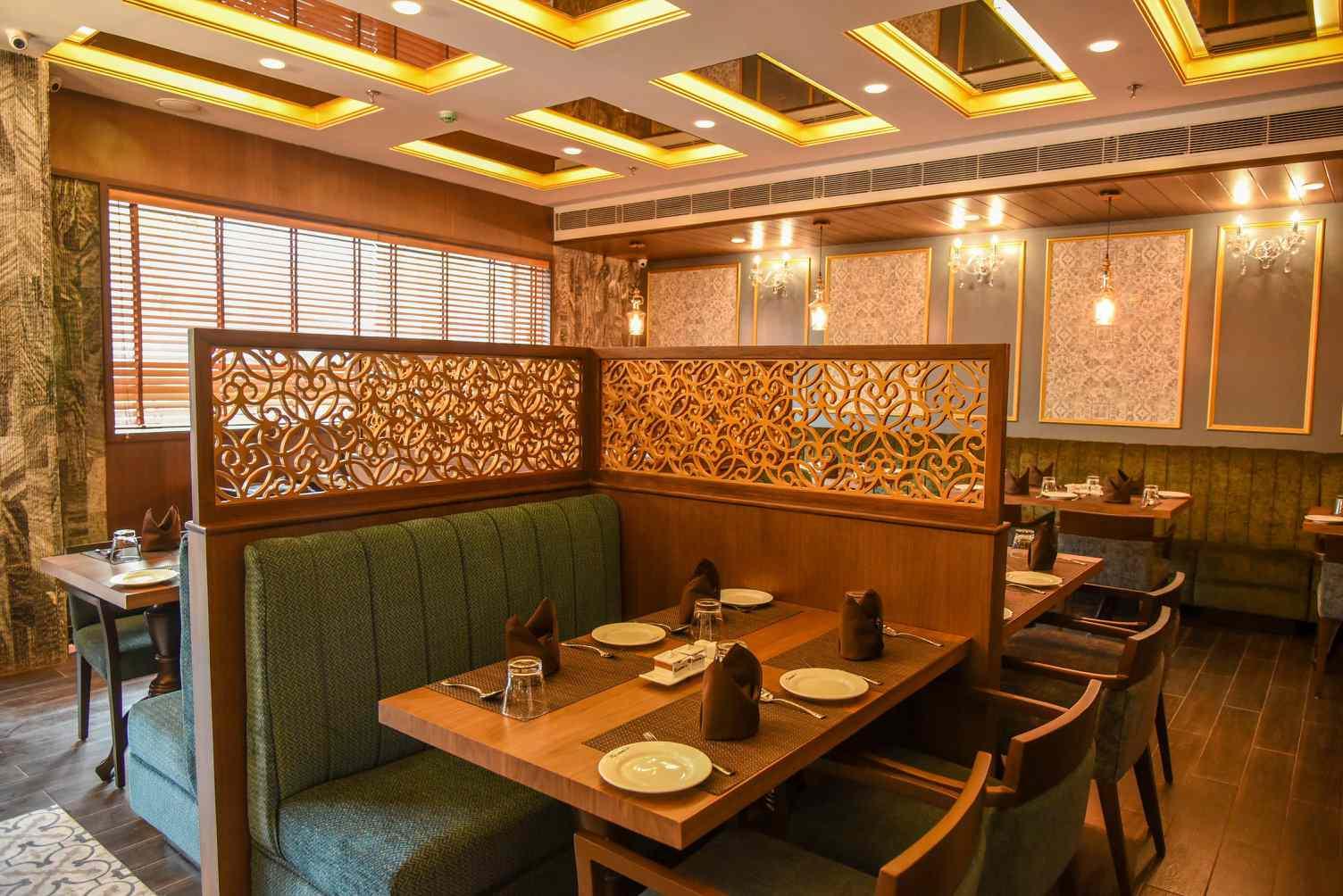 Dining room at Kareem's Kolkata