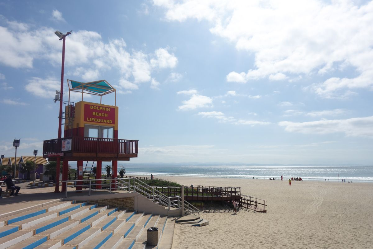 Life guard stand in Jeffreys bay