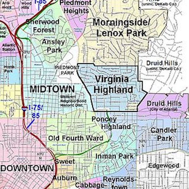 The World's Coolest Neighborhoods: Atlanta's Virginia-Highland on