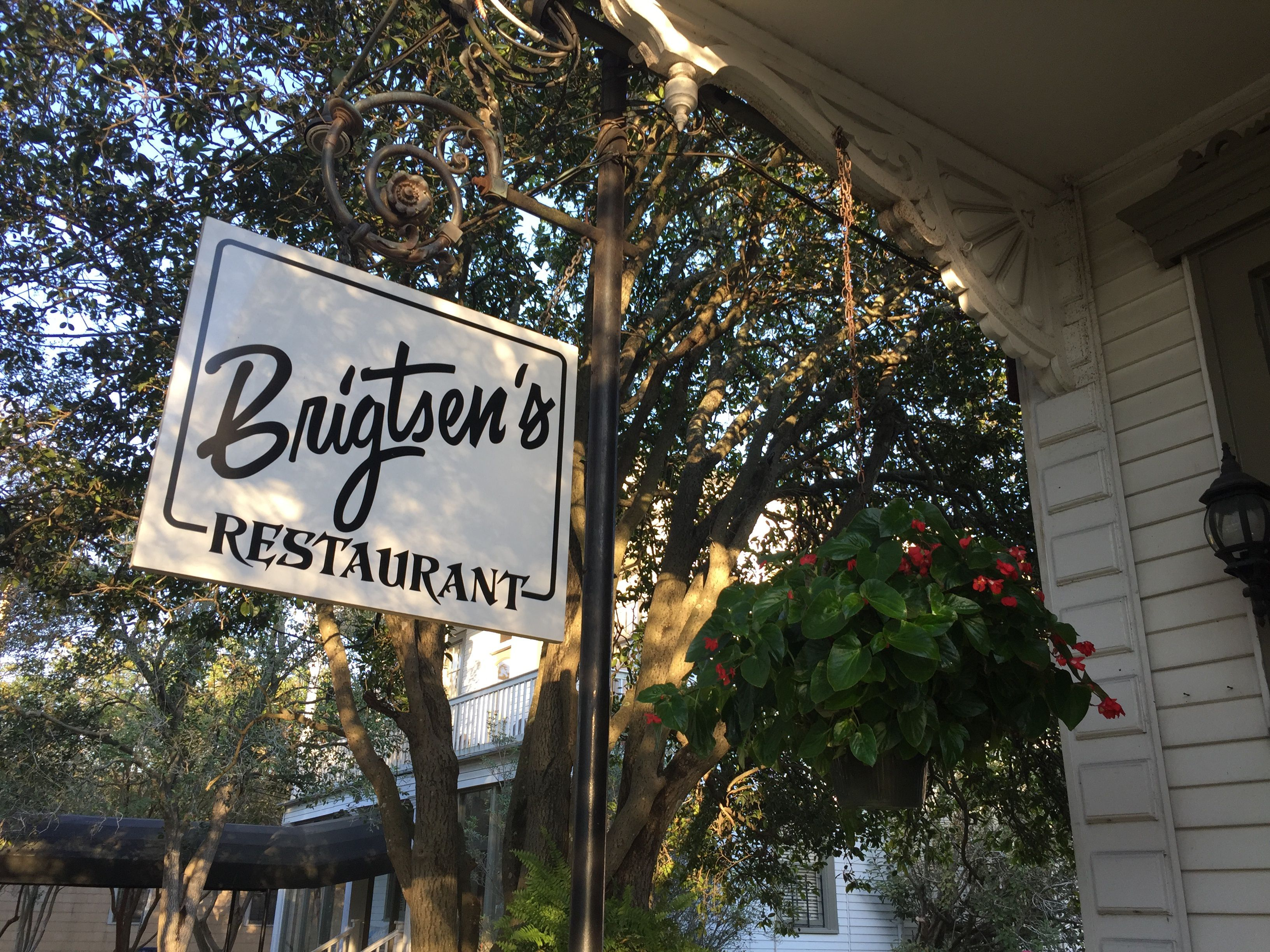 Brigsten's Restaurant in New Orleans, Louisiana.