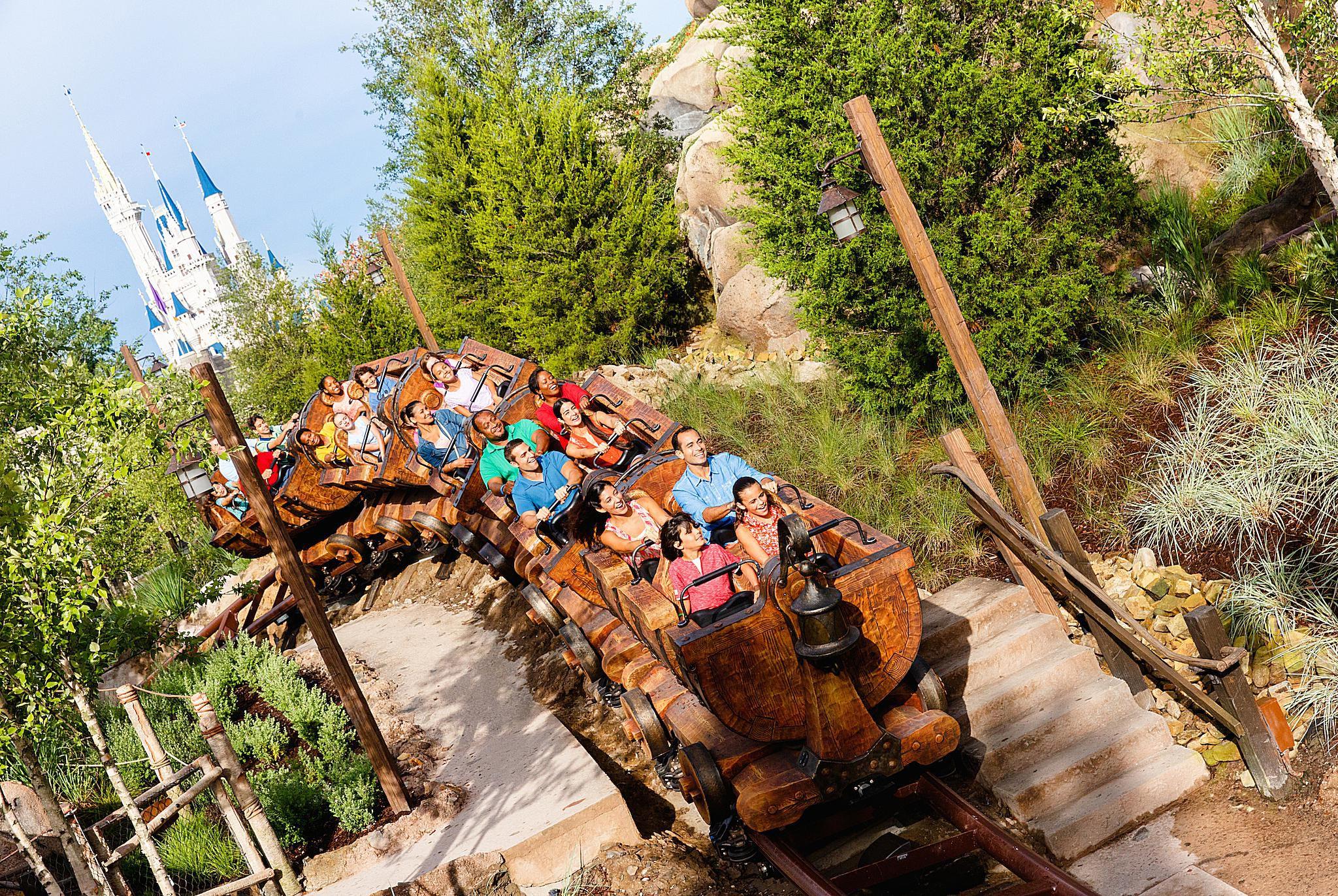 Resultado de imagem para Seven Dwarfs Mine Train