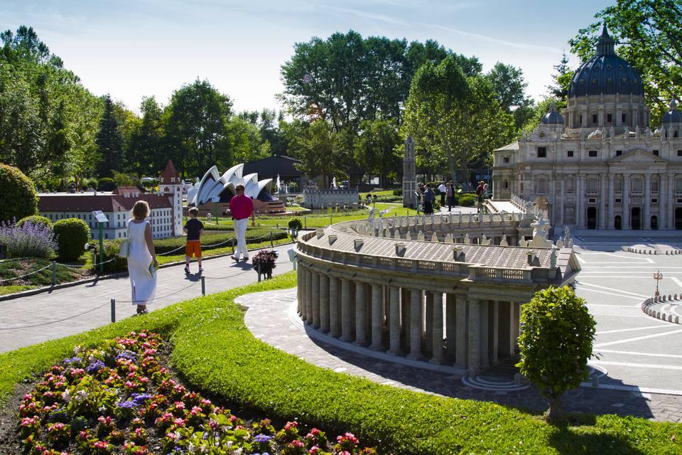 Austria, Carinthia, Klagenfurt am Worthersee, Minimundus, Miniature Park