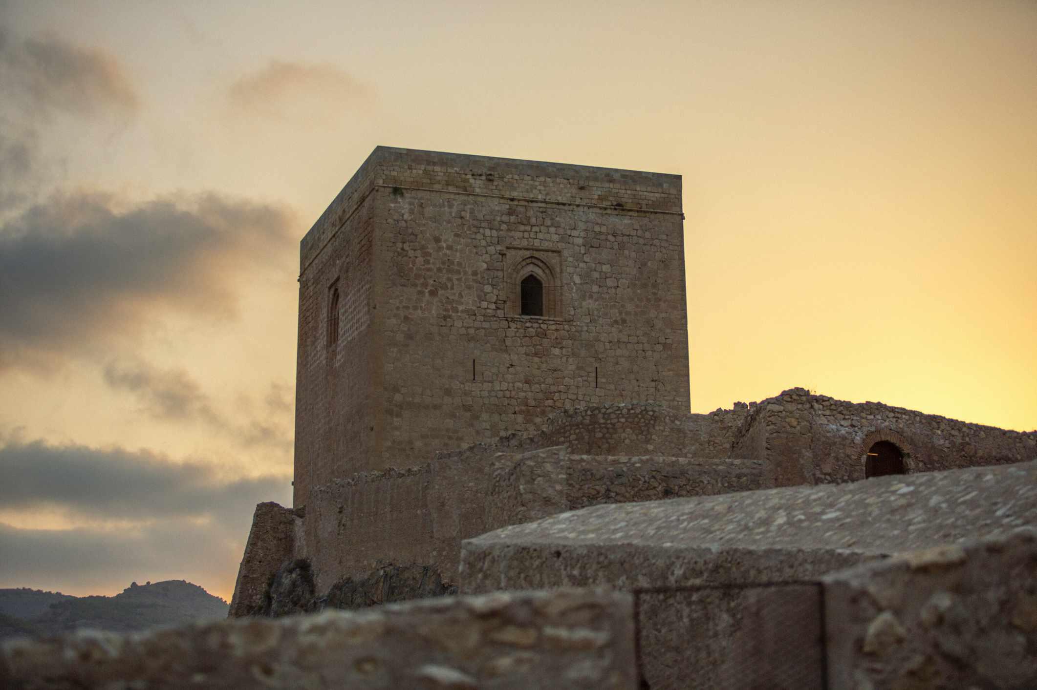 The ancient castle
