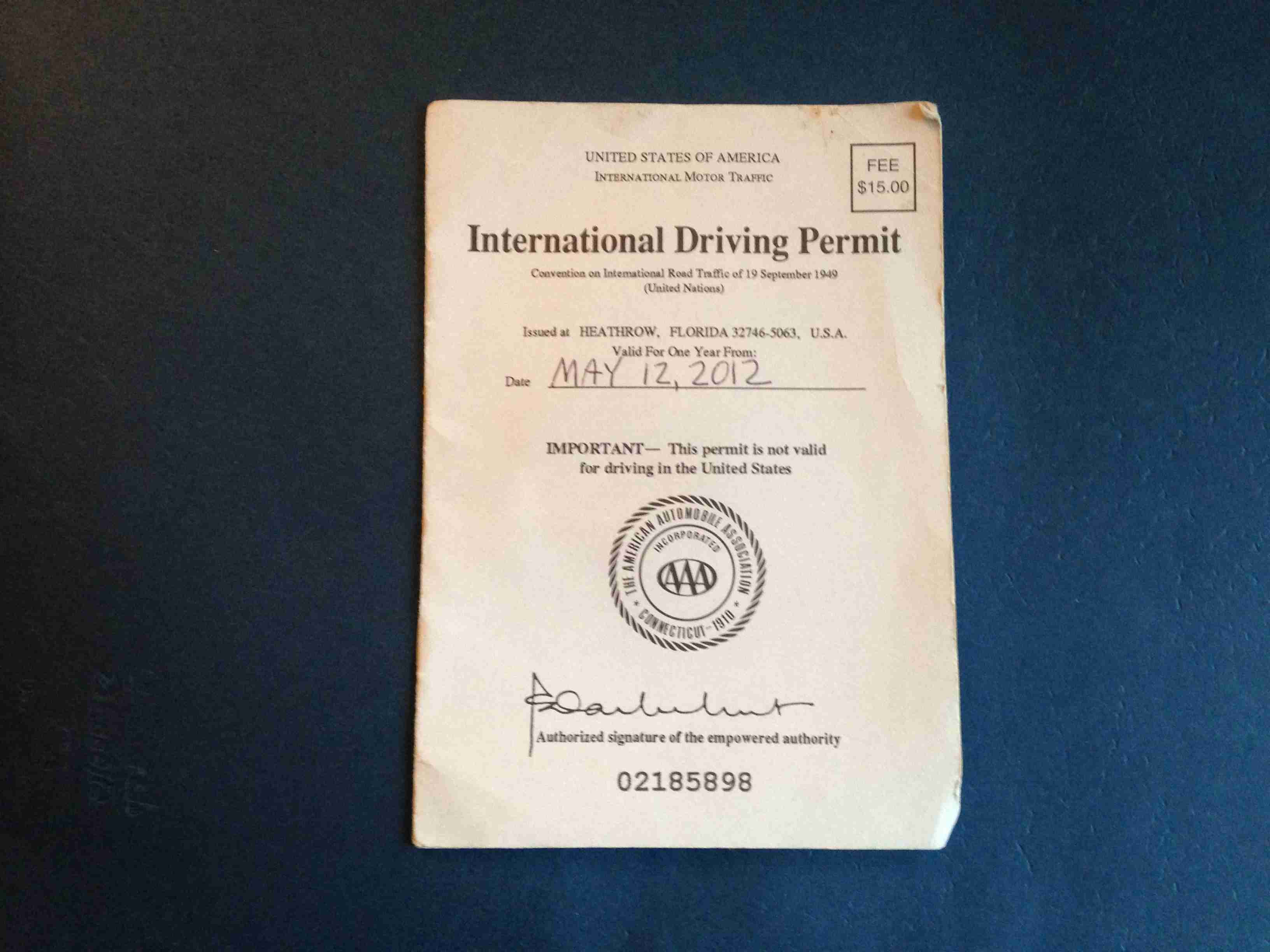Some countries require foreign drivers to obtain an International Driving Permit