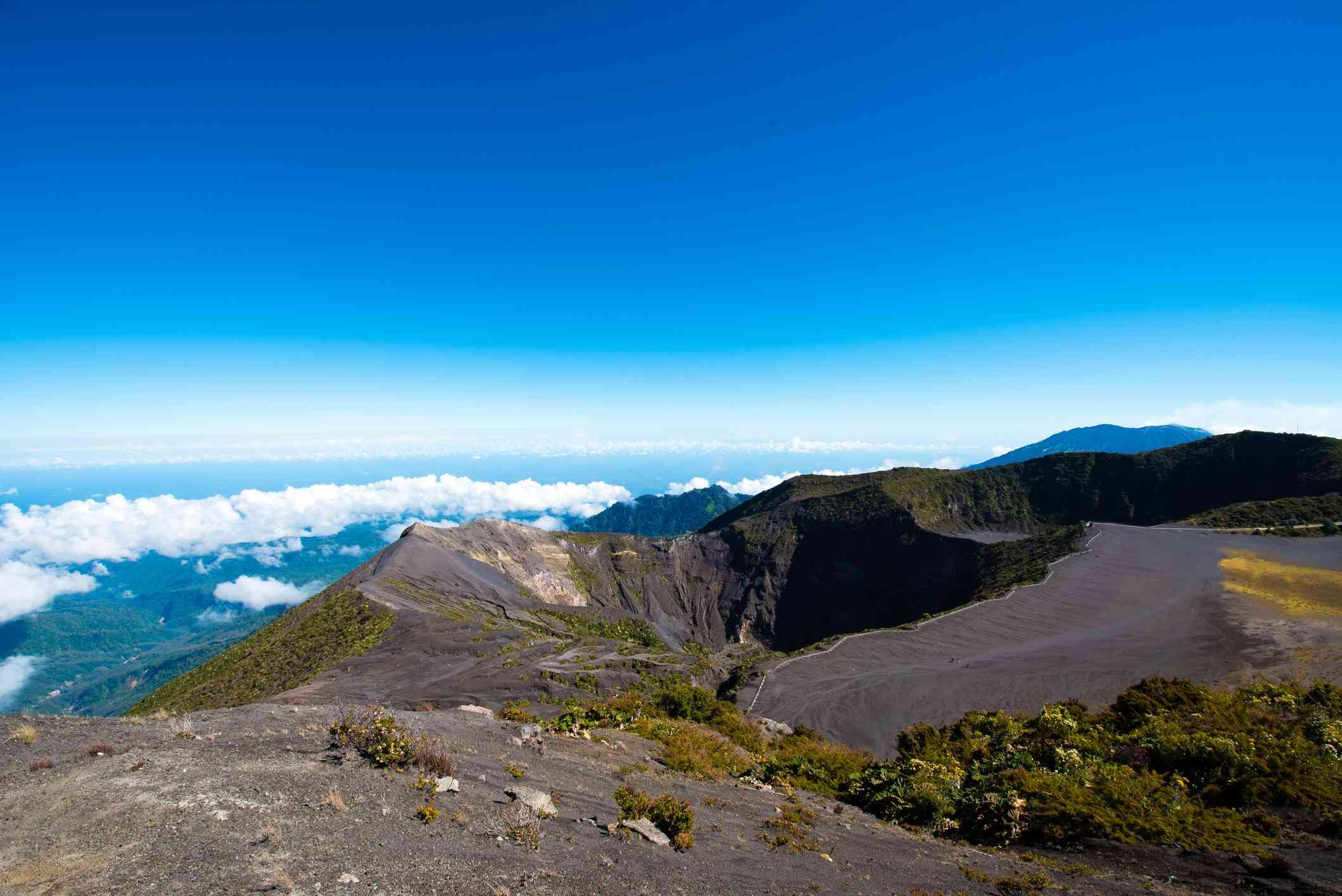 Irazu Volcano Principal Crater