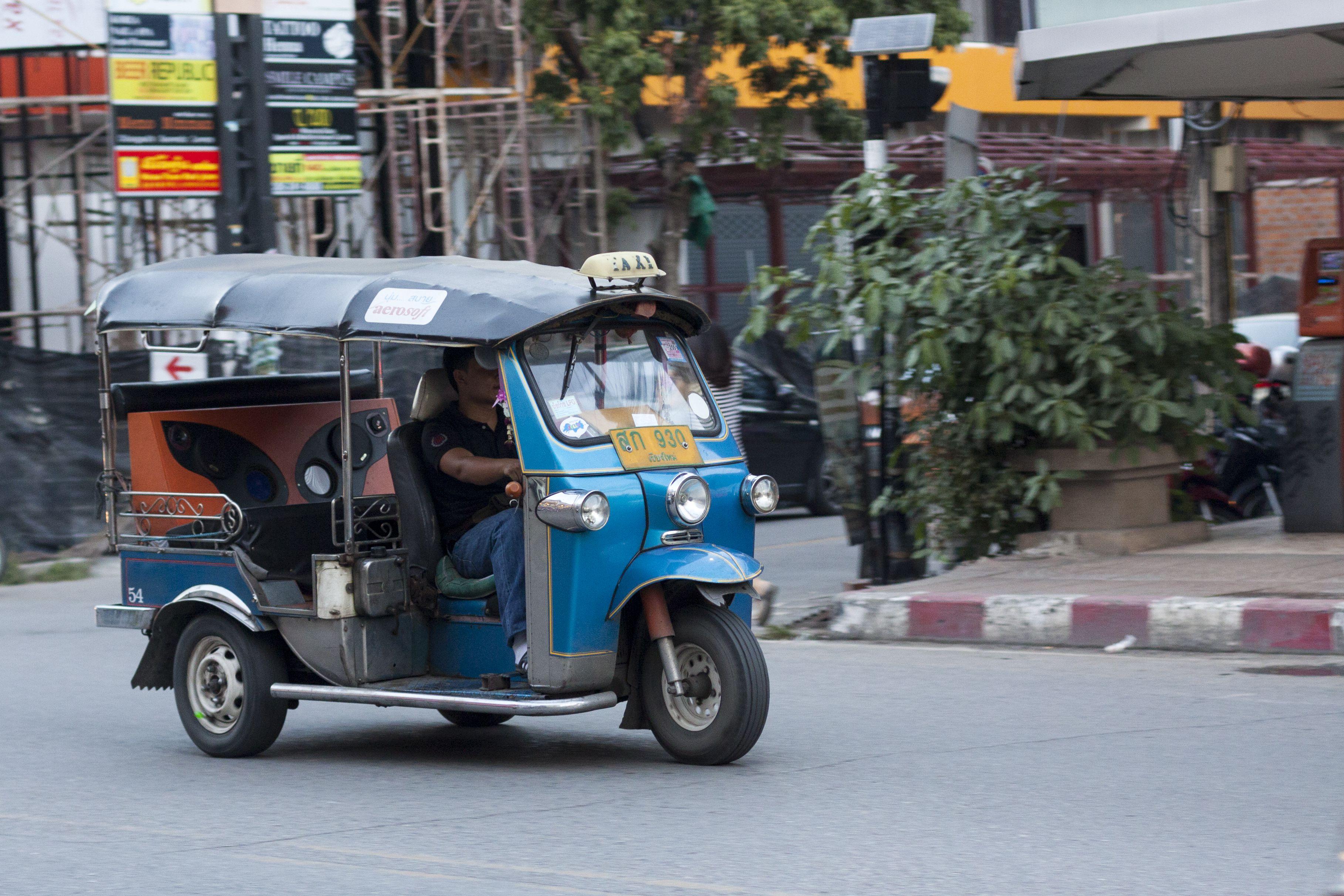 Tuk-Tuk in Chiang Mai Thailand