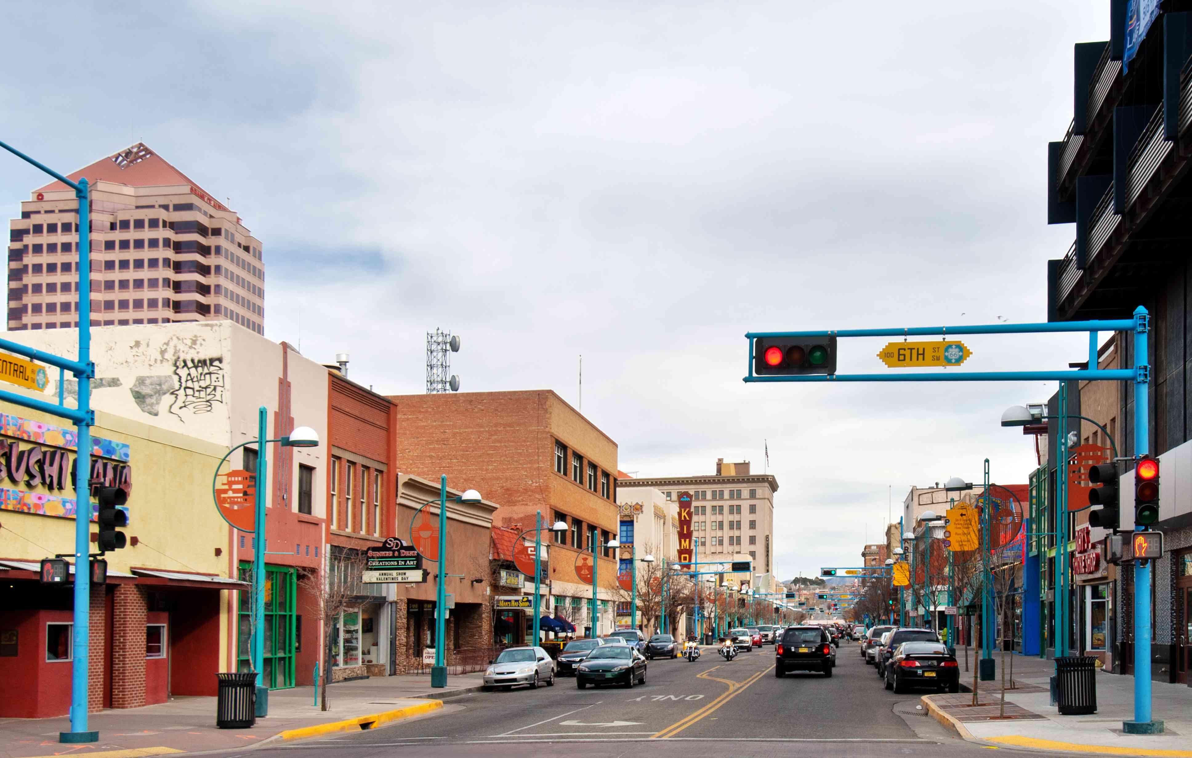 Albuquerque Downtown - Central Avenue