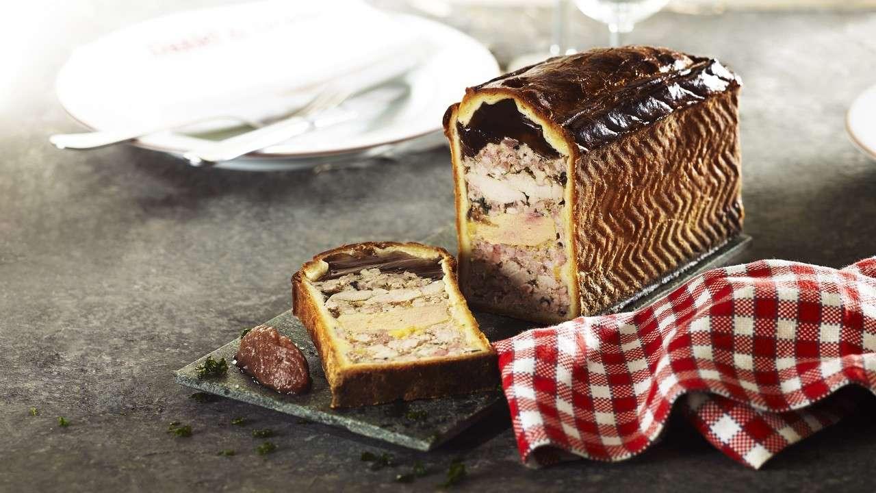 Pâté-en-croute from Daniel et Denise, a Lyon-based restaurant