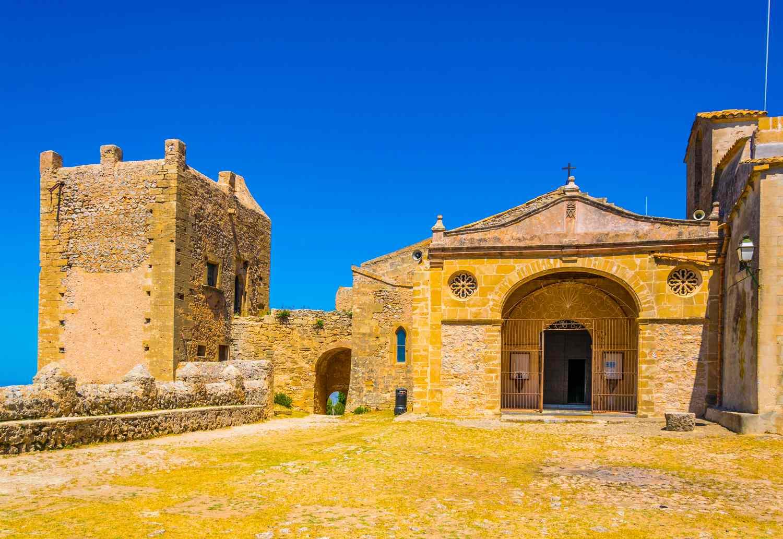 A small religious sanctuary at Puig de Maria, Mallorca