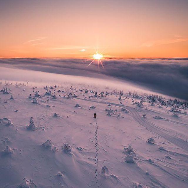 Sunrise at Stöten