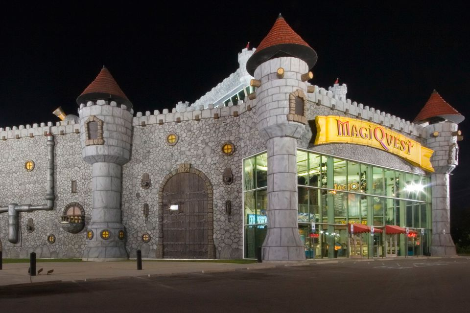 MagiQuest location in Pigeon Forge, Tennessee